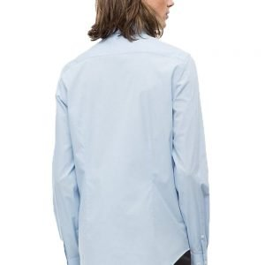 Calvin Klein Long Sleeved Poplin Shirt Light Blue