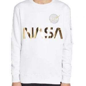 Alpha Industries Reflective Sweater White