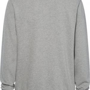 CALVIN KLEIN COTTON LOGO SWEATSHIRT GREY HEATHER