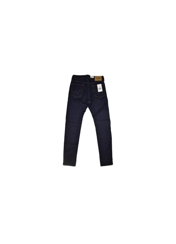 ED-75 Night Blue Denim Relaxed Tapered