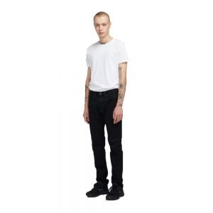 ED-55 Regular Tapered Power Black Denim