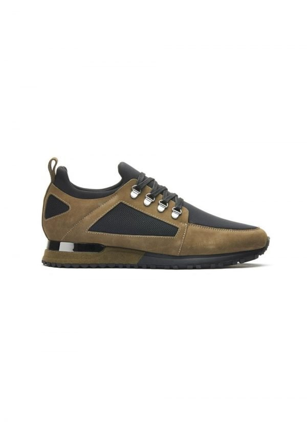 Mens Mallet Trainer BTLR Hiker Black Khaki