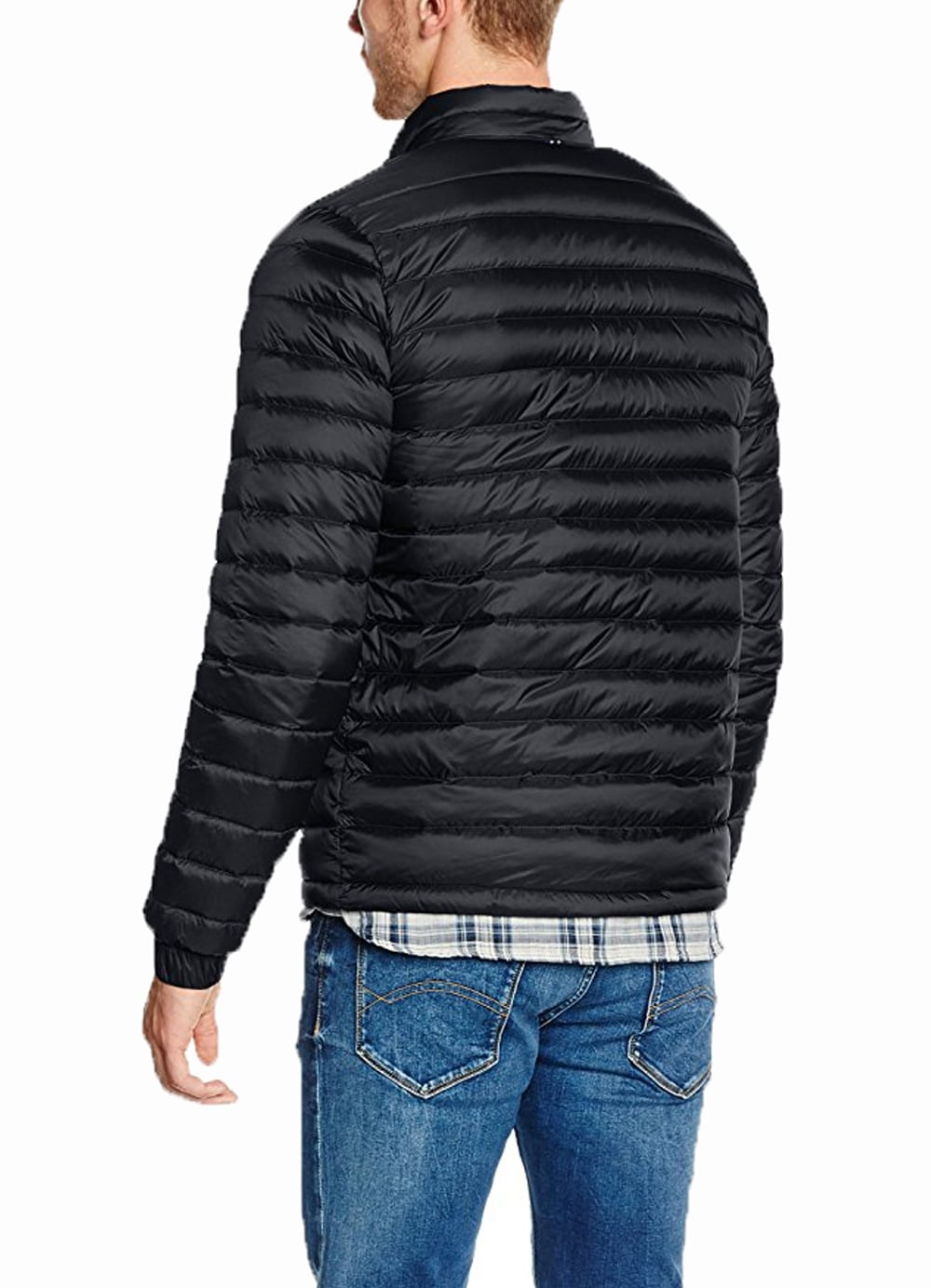 0d2e1f307 Tommy Hilfiger Core Lightweight Packable Down Jacket Jet Black - Time  Clothing