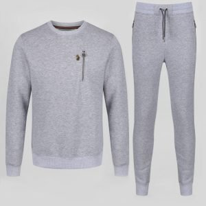 Paris Rome Tracksuit Grey