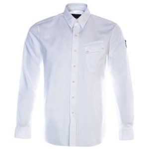Belstaff Mens Pitch Shirt 71120237 White